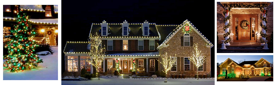 Residential Holiday Decorating Company Maryland